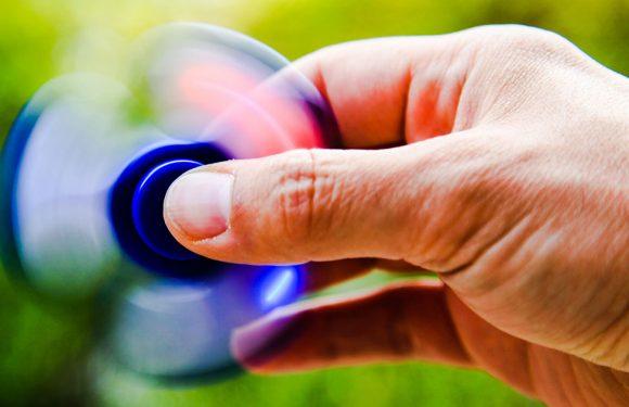 Un fidget spinner pour se calmer?!